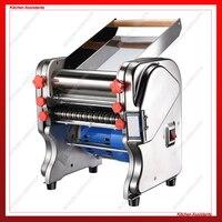 FKM220 Electric Dough Roller Stainless Steel Dough Sheeter Noodle Pasta Dumpling Maker Machine 220V Roller and Blade Changable