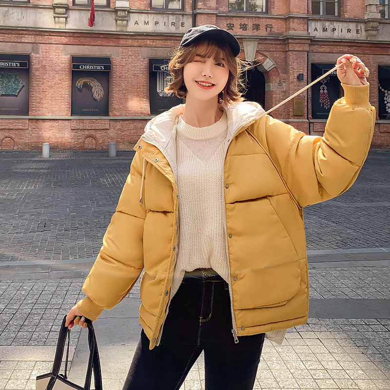 2019 new ladies fashion coat winter jacket women outerwear short wadded jacket female padded   parka   women's coats