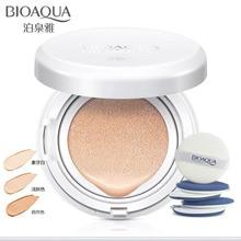 Воздушная Подушка BB крем консилер увлажняющий тональный крем отбеливающий макияж голый для лица солнцезащитный крем Красота Макияж