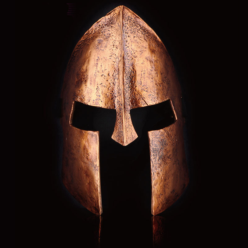 High Quality Collection Cos Hero Of Sparta Mask Resin Helmet Halloween Cosplay Party Scary