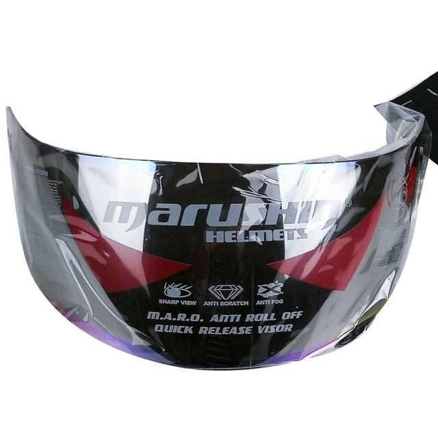 5e0dba3e Hot Marushin full face helmet Anti fog lens shield visor Marushin 778 888  999 111 222 RS2 779 motorcycle helmet free size golden