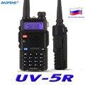 BaoFeng УФ-5R Walkie Talkie Двухстороннее Радио baofeng UV5R УКВ трансивер 128CH 5 Вт 136-174 МГц и 400-520 МГц Dual Band