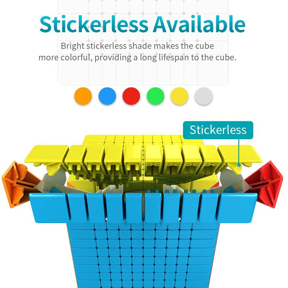 Moyu 10x10 CUBE Moyu Meilong 10x10x10 Cube magique 10 couches vitesse Cube professionnel Puzzle jouets pour enfants enfants cadeau jouet - 3