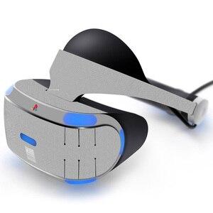 Наклейка для PS4 VR гарнитура Playstation VR, кожаная наклейка-0056