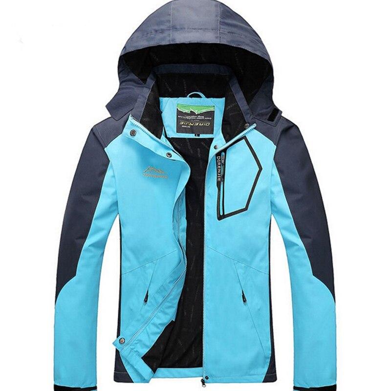 Femmes en plein air Softshell vestes printemps automne imperméable randonnée manteaux coupe-vent thermique Sports Camping Ski vestes