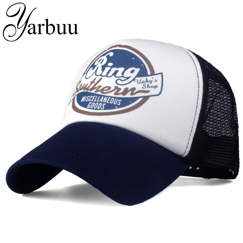 [YARBUU]Brand baseball caps with letter net cap for men women new fashion high quality snapback hats casquette bone summer hat 2016 new new embroidered hold onto your friends casquette polos baseball cap strapback black white pink for men women cap