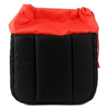 Drawstring Partition Padded Insert Camera Bag Shockproof Waterproof Inner Pouch