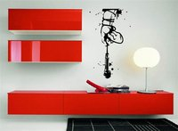 Hand With Microphone Music Wall Sticker Home Decal Vinyl Wall Decor Music Room Wallpaper