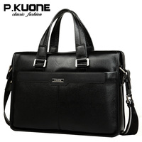 Leather Bag Handbag Genuine Leather Man Bag Commercial Cross Body First Layer Of Cowhide Briefcase Male
