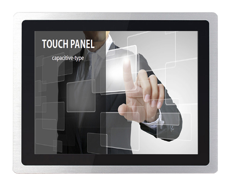 19 inch open frame industrial touch screen monitor,/dustproof/waterproof/ for kiosk gaming machine