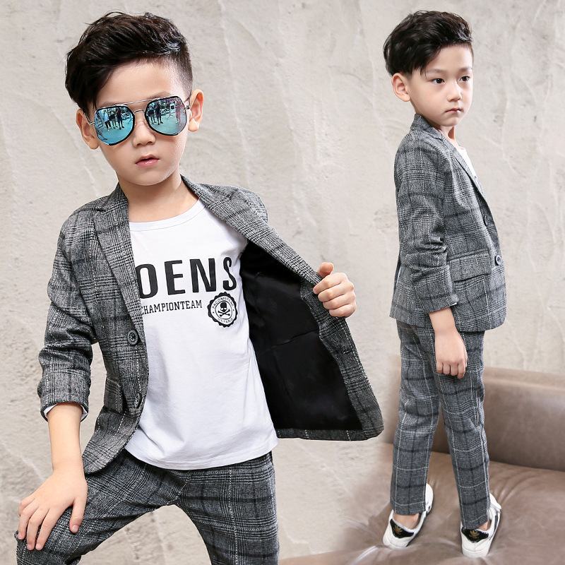 Boys clothes 2018 spring kids clothing sets full sleeve coats and pants baby children outfit casual suits toddler autumn suits