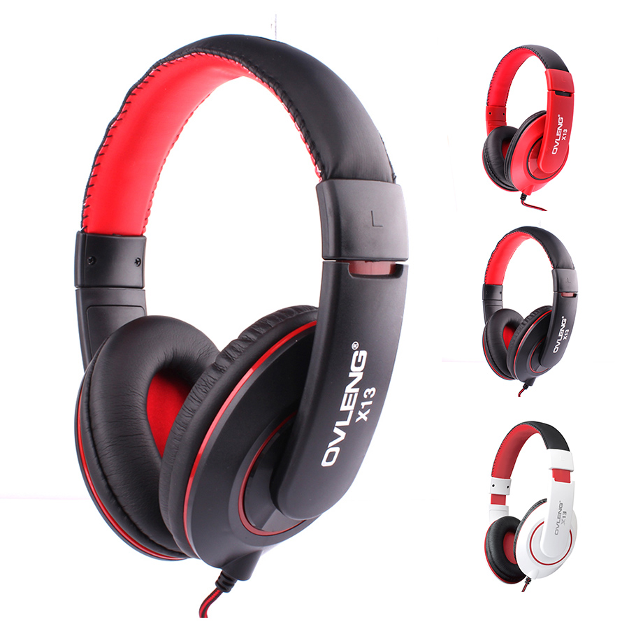 original over ear headphones earphone stereo wired head. Black Bedroom Furniture Sets. Home Design Ideas