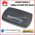 New Original Unlocked DC-HSPA 42Mbps HUAWEI E5251 Portable 3G WiFi Router With Sim Card Slot