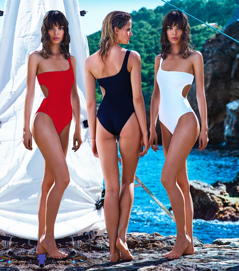 Womens One Piece Swimwear One Shoulder Monokini Swimsuit Bathing suit Vintage Cut Out beachwear Bodysuit sony sony fdr ax700 4k hdr видео hd видеокамера 1000fps супер замедленное