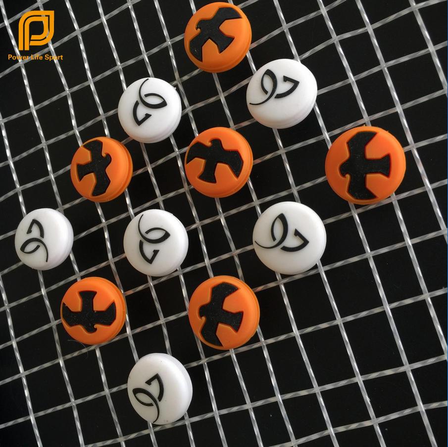 Free Shipping orange Eagle white DJ Tennis Racket Vibration Dampeners Tennis font b Racquet b font