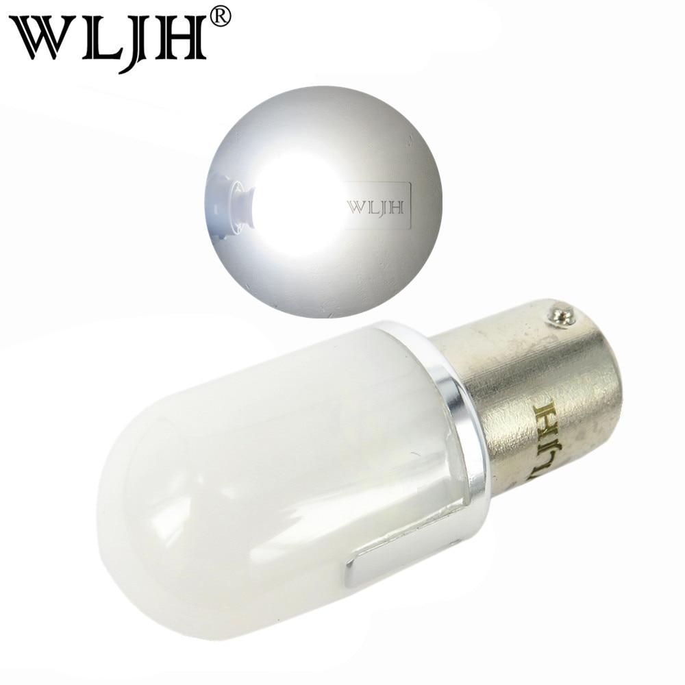 WLJH 2x 800lm 9 V-30 V 1156 Led Ampoule Lumière S25 BA15S 7506 P21W LED De Voiture Auto Camion RV Signal de Secours N ° Queue De Frein Lampe Lumière