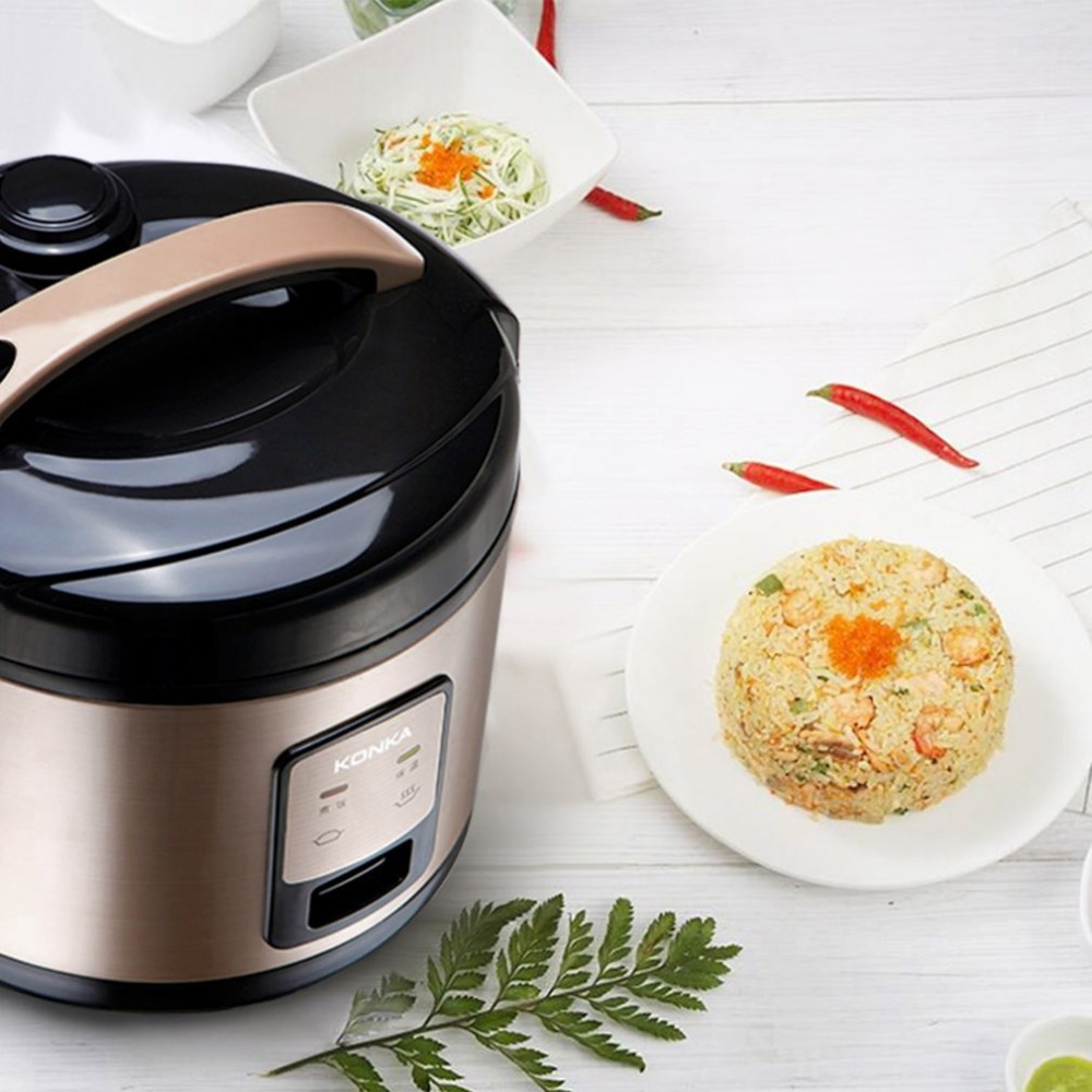 KONKA EU Plug Multifunction Electric Rice Cooker 3L Heating Pressure Cooker Home Appliances For Kitchen Electric Pressure Cooker electric lunch box double layer stainless steel liner cooking lunch boxes multifunction plug in lunch box steamed rice steamer