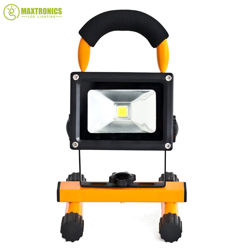 10w rechargeable led flood lighting rechargeable led emergency lamp portable spotlight battery. Black Bedroom Furniture Sets. Home Design Ideas