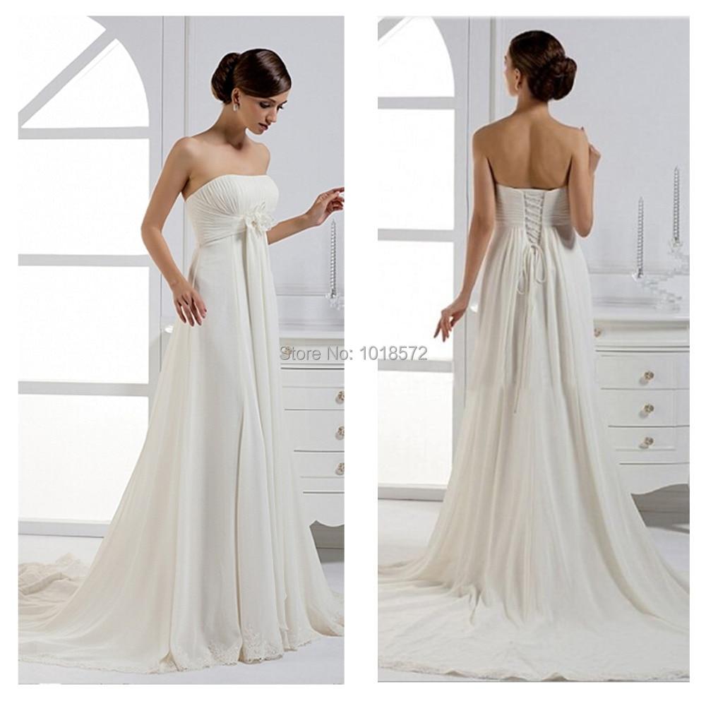 Cheap Ivory Casual Wedding Dresses Flower Girl Dresses