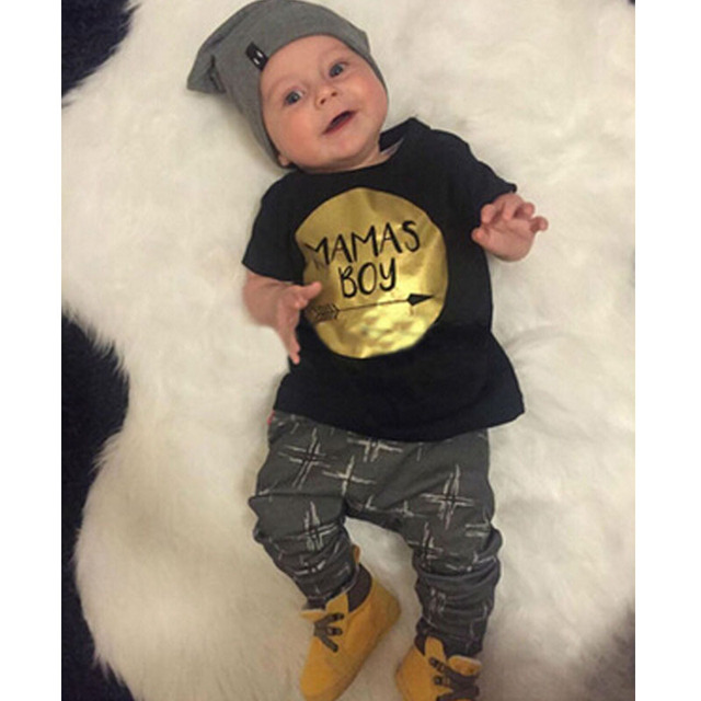 6205cdb093b22 Dessin animé animaux bébé vêtements ensemble nouveau-né coton Costume  infantile garçon vêtements à manches