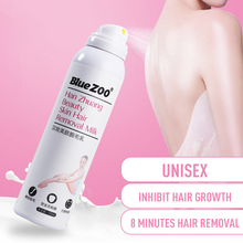 BlueZOO Painless mousse Hair Removal Cream Moisturizing Depi