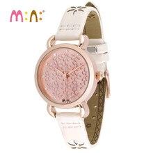 Reloj Mujer M:N: marque femmes montres étanche dames or Quartz montre bracelet femme mode filles horloge enfants Relogio Feminino