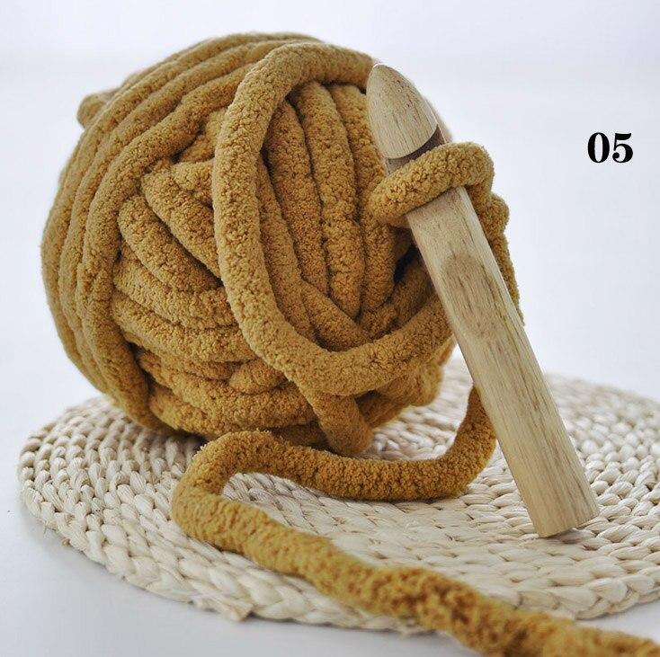 250g Warm Super Dikke Garen Voor Breien Threads Hand Knit Kussen