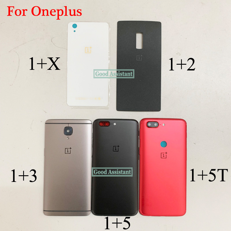 Cover Door-Housing-Case Oneplus Rear-Glass-Replacement-Parts Back-Battery for One-plus/1--x-2-3-3t-5/5t/6-global