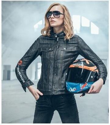 UglyBROS UBJ03 ностальгический ретро Harley мотоцикла на вождение мс черный ковбой одежда