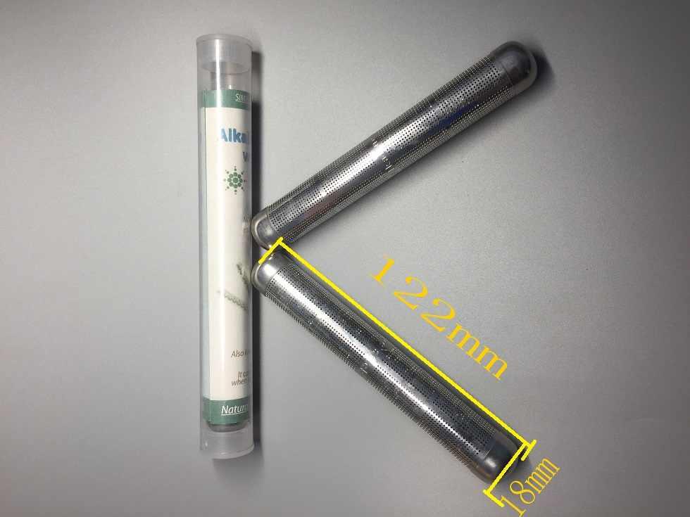 Ионизатор, отрицательный ион очиститель воды палочка для щелочной воды нержавеющая сталь поднять PH нег заряженных структурно здоровья портативный