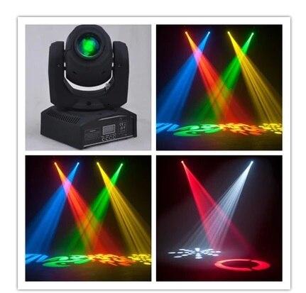 4pcs/lot, Mini Moving head spot 10w 30w LED RGBW Gobo effect Light DMX disco stage lighting with 8 gobos стоимость