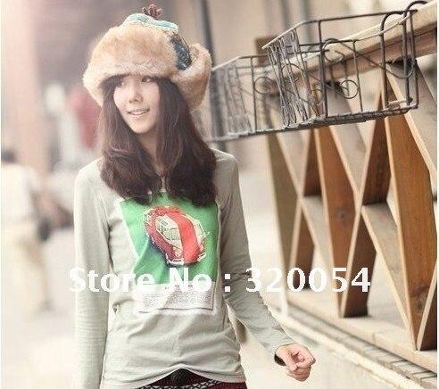 Рождественский подарок, 1 шт, Корейская версия повседневной зимней взрослой тигровой зимне наушники шапка, толстая хлопковая Меховая кепка с отворотами