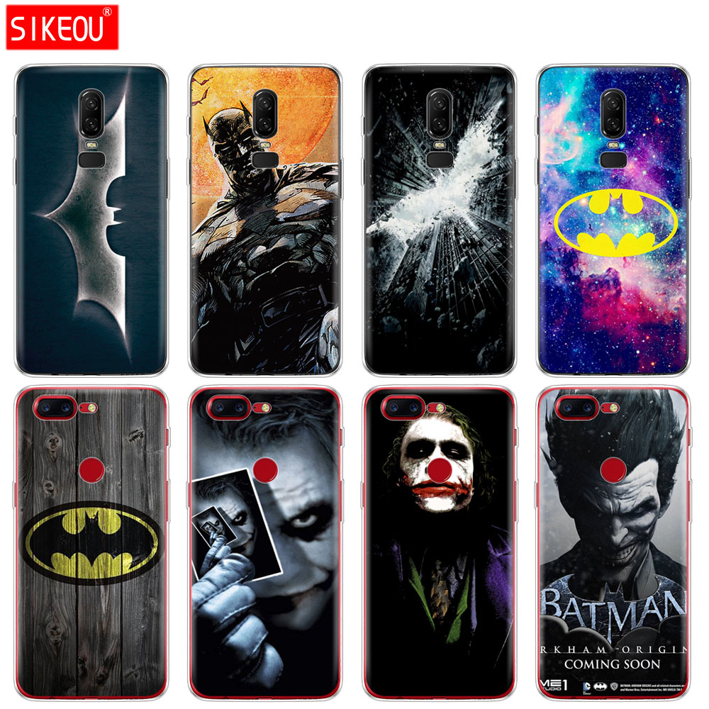 Fitted Cases Cellphones & Telecommunications Silicone Cover Phone Case For Oneplus One Plus 6 5t 5 3 A3000 A5000 Silver Batman