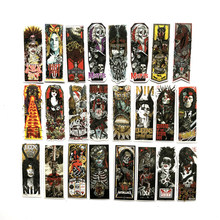 50pcs/lot Gothic girl tattoo dark style Stickers Classic Japan Anime Sticker Modern Popular Laptop Luggage Car Skateboard Phone(China)