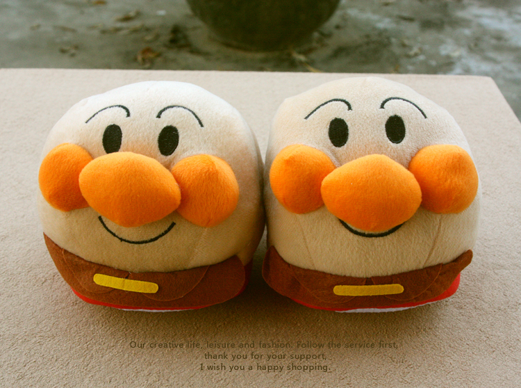 Novelty Anime Cartoon Cosplay Anpanman Slippers Winter