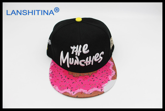 2017 black pink trend hip hop CS notch Snapback caps high quality the  munchies gorras cotton adjustable men women baseball cap 94f45bd76fa
