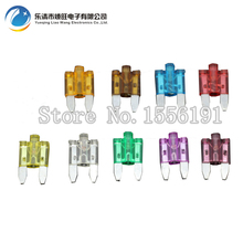 30PC 3A~40A Small Size Auto fuse inserts car insurance tablets small fuse with lamp car inserts fuse with box and clip cape massage главдор ag16029 with деревяннными inserts with brown mesh pattern 55180