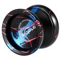 Ametoys Magia Profesional yo-yo Yoyo Aleación De Aluminio de Alta velocidad torno CNC Rodamiento KK con Cadena de Spinning para niños de los Niños