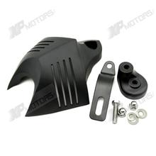 Motorcycle Black Stock Cowbell Horn Cover For Harley Davidson Dyna Fat Bob Softail Sportster Electra Road