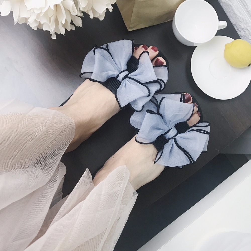 Mazefeng 2018 Summer Slides Female Slippers Classic Women Ourside Slippers Bow Slides Women Casual Slippers Ladies Antiskid medicine science type blood test slides and marrow slides