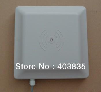8dbi antenna rs232 rs485 wiegand read 6m integrative uhf reader 50 uhf rfid windshield adhesive tags 6m long range RS232/RS485/Wiegand Integrative UHF RFID Reader