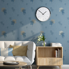 Nordic Abstract Tree Pattern Wall papers Home Decor Blue Green coffee Wallpaper Roll for Living Room Bedroom Decoration Mural все цены
