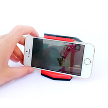 Adjustable Mobile Phone Alligator clip holder Vehicle-mounted Universal Car Holder Hippo Mouth Bracket