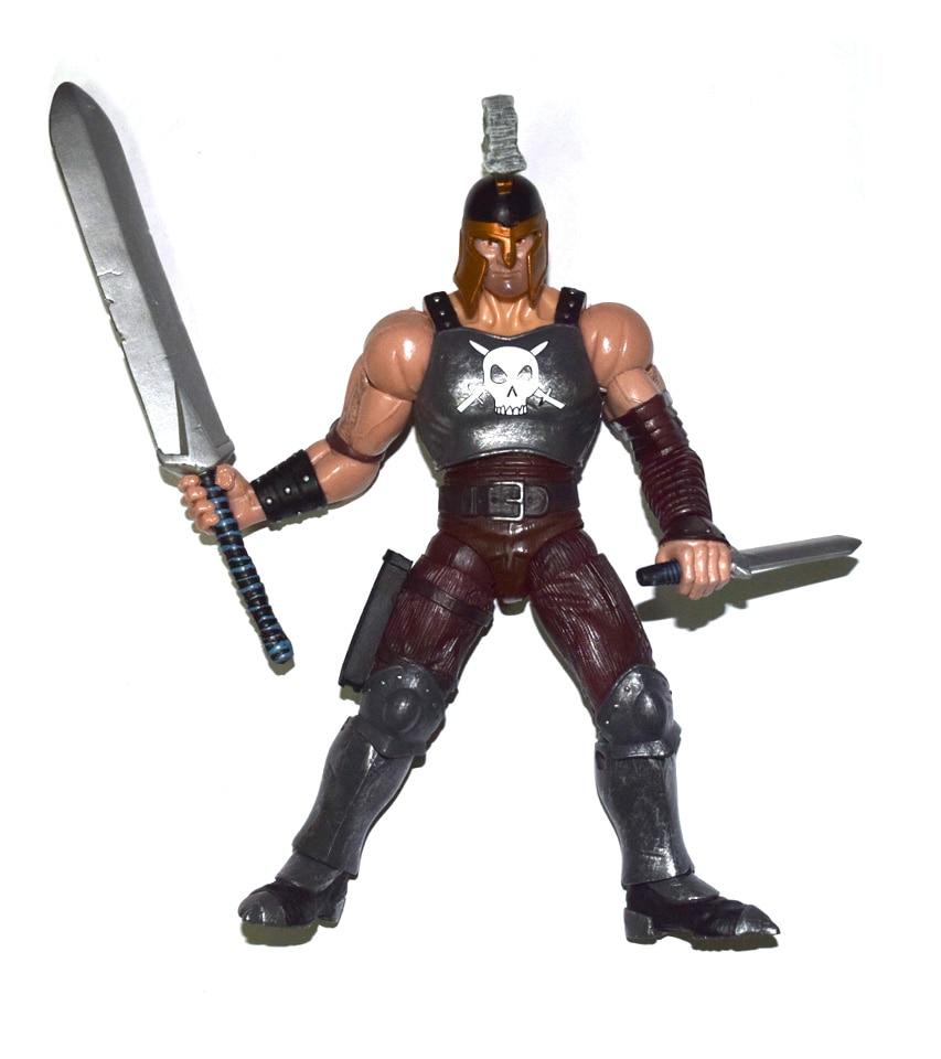 "Toy Biz Marvel Legends Ares Full Accessories BAF 7/"" Action Figure Loose"
