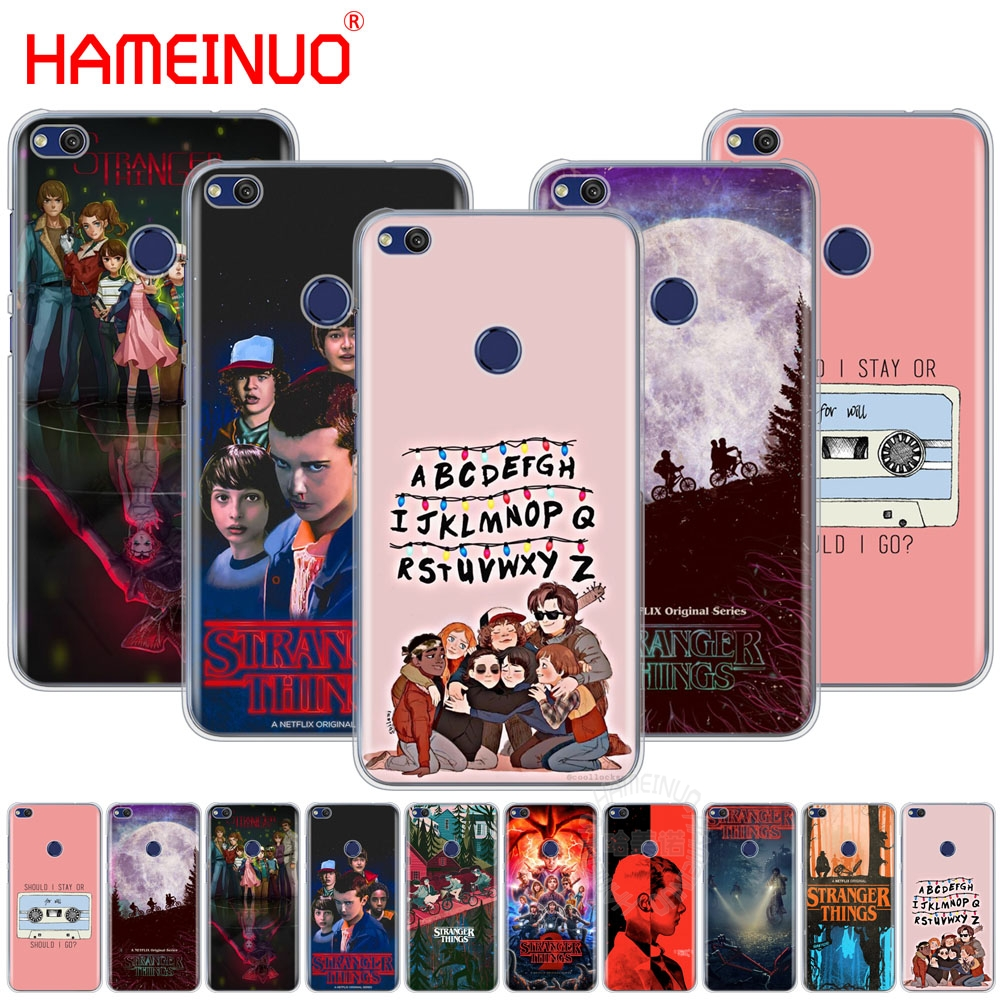 HAMEINUO <font><b>stranger</b></font> <font><b>things</b></font> Cover <font><b>phone</b></font> <font><b>Case</b></font> for <font><b>huawei</b></font> Ascend P7 P8 P9 P10 <font><b>P20</b></font> <font><b>lite</b></font> plus G8 G7 2017 mate 8 image