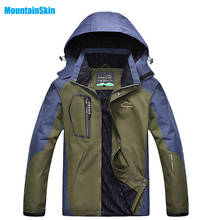 2017 Men's Spring Breathable Waterproof Softshell Jackets Outdoor Brand Clothing Coats Camping Trekking Hiking Male Jacket MA025