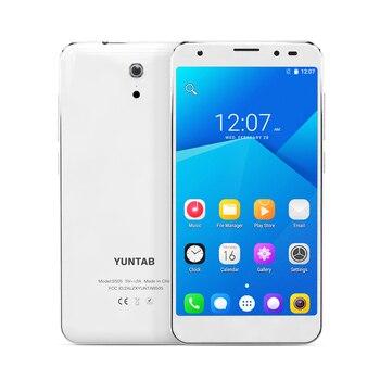 YUNTAB 5 inch 4g Unlocked Smartphone S505 Android6.0 tablet Quad-core 2 gb + 32 gb ondersteuning Dual SIM Slots Dual Camera 3000 mah batterij