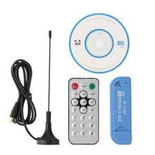 Nouvelle arrivée Usb dvb-t tuner tv numérique récepteur DAB + FM + RTL2832U + R820T2 DTS HD TV Bâton dongle avec récepteur satellite antenne
