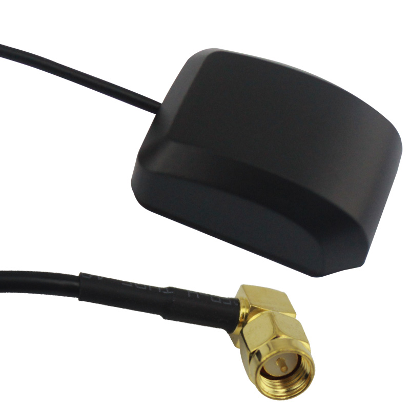 3meter GPS Antenna Aerial SMA Male Cable Right Angle 1575.45MHz