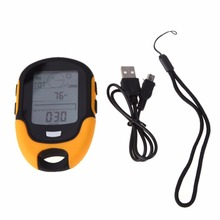 Outdoor Multifunction LCD font b Digital b font Compass Camping Altimeter Waterproof Travel Swimming Barometer font